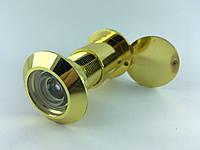 Дверной глазок KOZAK Ф25*(65-90)mm GP (цвет золото)
