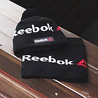 Зимний комплект Шапка+Баф Reebok