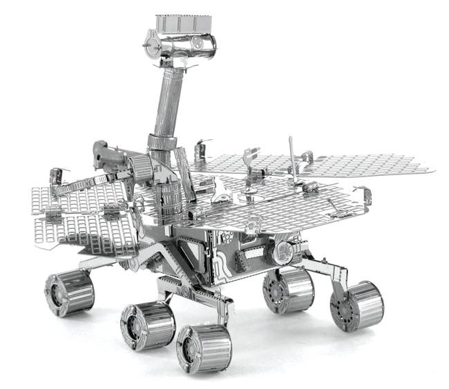 """Металлическая сборная 3D модель """"Марсоход NASA"""""""