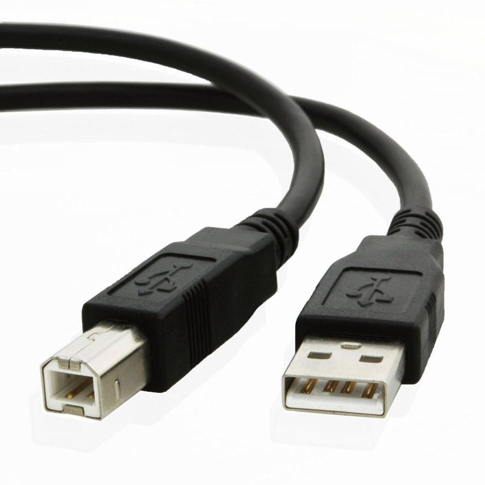 Дата кабель USB - принтер ATcom (AM/BM) 0.8 м USB 2.0 Тип A -  USB 2.0 Тип B