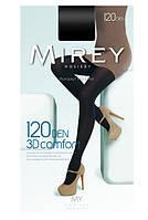 Теплые колготки трёхмерное плетение из мягкого 3D хлопка Mirey COMFORT 120 ден №3 M  чёрные  ЛЖЗ-120482