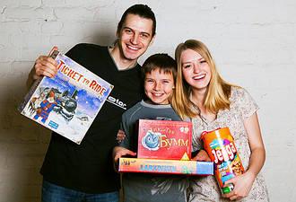 Настольные игры и подарки на любой возраст и вкус