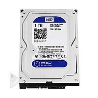 Жесткий диск Western Digital WD10EZEX Blue 1TB, 7200rpm, 64MB, 3.5 SATA III, жесткие диски Western Digital WD10EZEX
