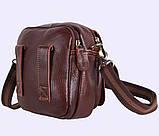 Мужская кожаная сумка Dovhani Dov-673 Коричневая, фото 6