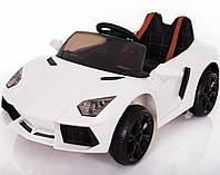 Детский электромобиль T-753 EVA WHITE на Bluetooth 2.4G Р/У 12V4.5AH мотор 2*15W 106*62*46
