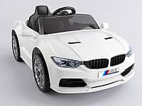 Детский электромобиль музыкальный T-7633 EVA WHITE на Bluetooth 2.4G Р/У 12V4.5AH мотор 2*15W кол. 1