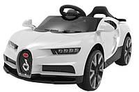 Детский электромобиль музыкальный T-7638 EVA WHITE на Bluetooth 2.4G Р/У 12V4.5AH мотор 2*20W 103*65