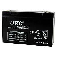 Аккумулятор BATTERY 6V 12A UKC