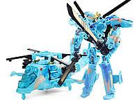 Робот трансформер 18 см Вертолет