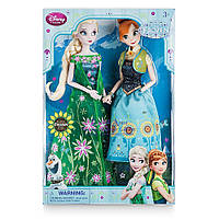 "Кукла Disney Анна и Эльза ""Торжество"" 30 см - Frozen, Disney, Anna and Elza green dress"