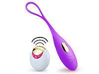 Виброяйцо Lust на дистанционным управлением USB  Фиолетовый