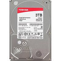 Жесткий диск Toshiba HDWD130UZSVA P300 3TB, 7200rpm, 64MB, 3.5 SATA, жесткие диски Toshiba, внутренний жесткий диск