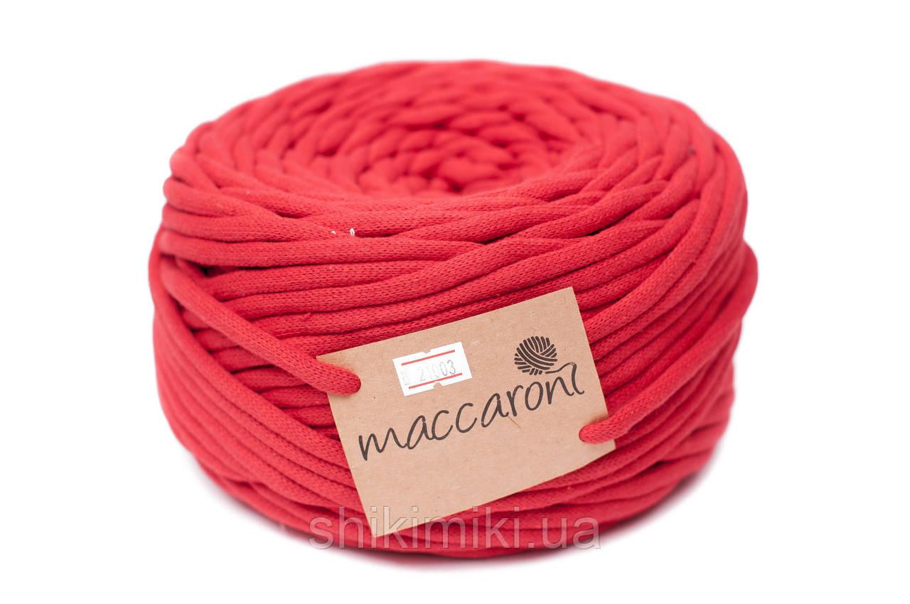 Трикотажный шнур Cotton Filled 8 mm, цвет Красный