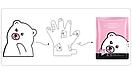 Питательная маска-перчатки для рук JOMTAM Hand Mask Gentle Refreshing Moisturizing 35 g (1 пара), фото 2