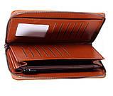 Стильный мужской клатч из натуральной кожи WHEAT001-5 Рыжий, фото 4