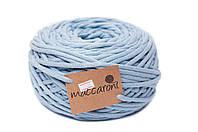 Трикотажный шнур Cotton Filled 8 mm, цвет Голубой