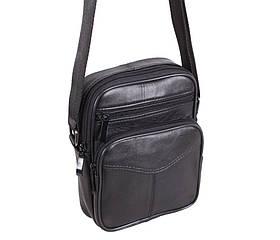 Компактная недорогая сумка из натуральной кожи мужская кожаная барсетка