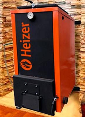 Шахтный твердотопливный котел Heizer 40 kWt котел Холмова на немецком оборудовании, фото 2
