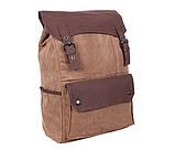 Рюкзак в стиле кэжуал 6075-2COFFEE Коричневый, фото 3