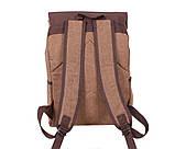 Рюкзак в стиле кэжуал 6075-2COFFEE Коричневый, фото 4
