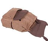 Рюкзак в стиле кэжуал 6075-2COFFEE Коричневый, фото 5