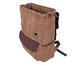 Рюкзак в стиле кэжуал 6075-2COFFEE Коричневый, фото 6