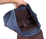 Добротный рюкзак из прочного материала 8634-3BLUE Синий, фото 7