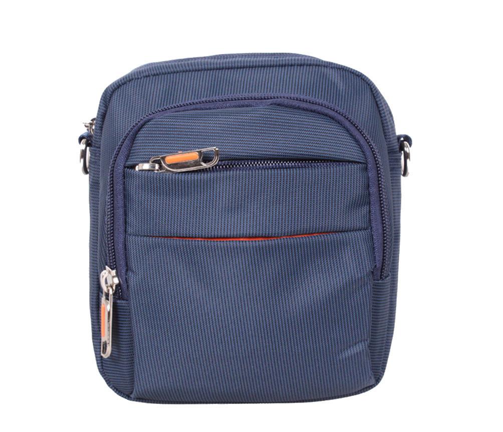 Стильная сумка синего цвета Nobol S6339-1BU Синяя