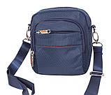 Стильная сумка синего цвета Nobol S6339-1BU Синяя, фото 4