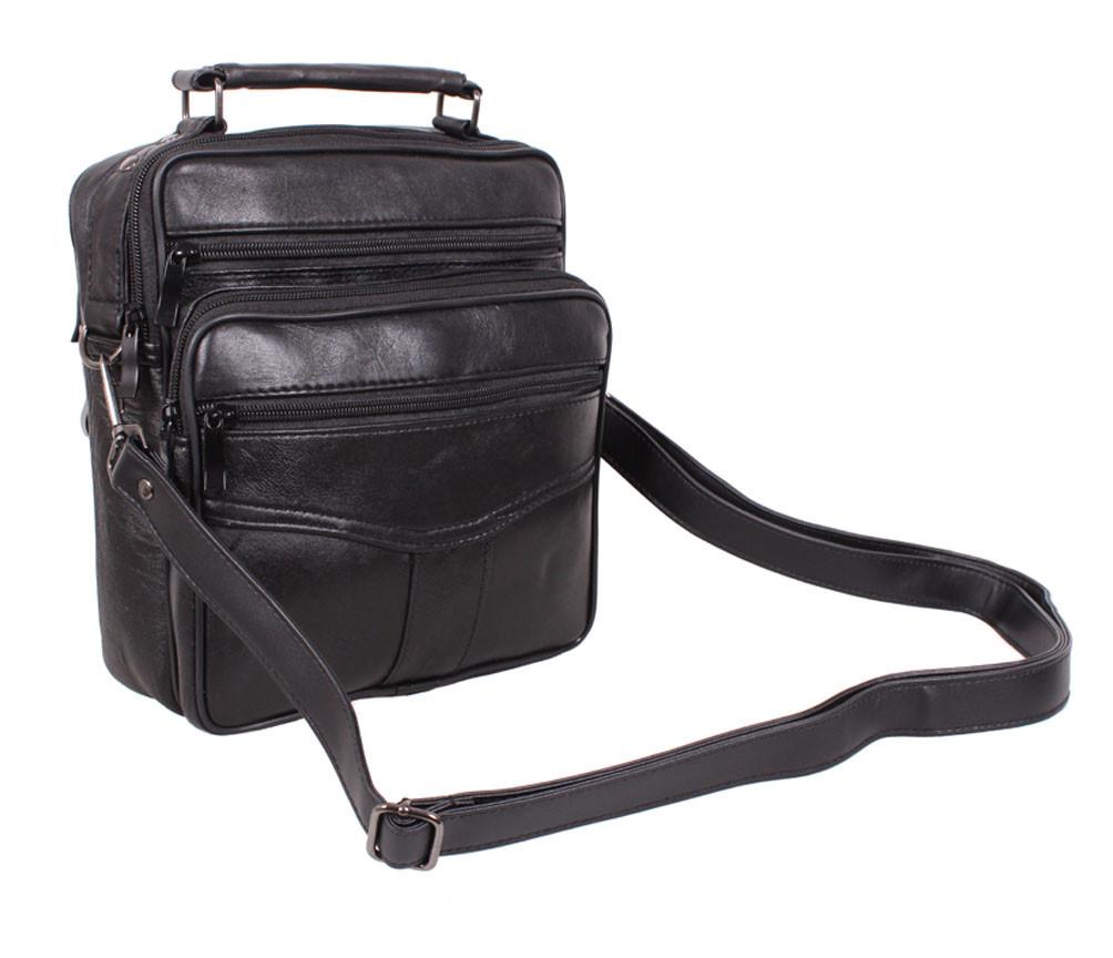 Вместительная не дорогая сумка из кожи