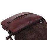Мужская кожаная сумка Dovhani A4-980 Коричневая, фото 6