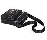 Мужская кожаная сумка Dovhani 60-29BLACK Черная, фото 5