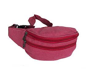 Сумка текстильная на пояс Dovhani Q001-6SRED Красная