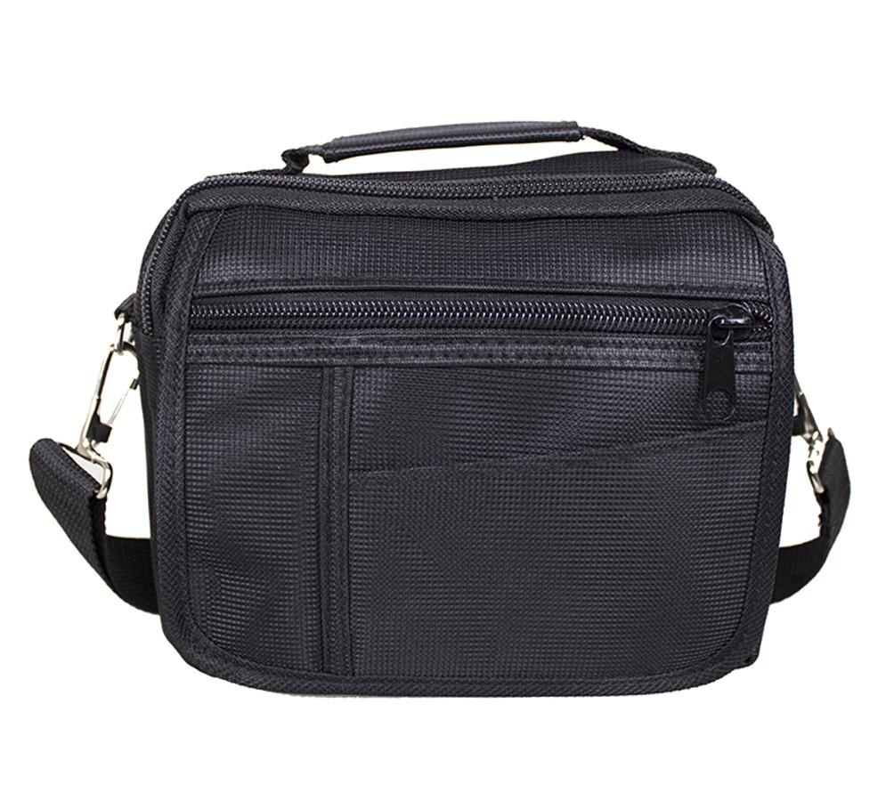 Горизольтальная сумка 1107-12 DOVHANI черная