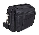 Горизольтальная сумка 1107-12 DOVHANI черная, фото 3