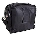 Горизольтальная сумка 1107-12 DOVHANI черная, фото 4