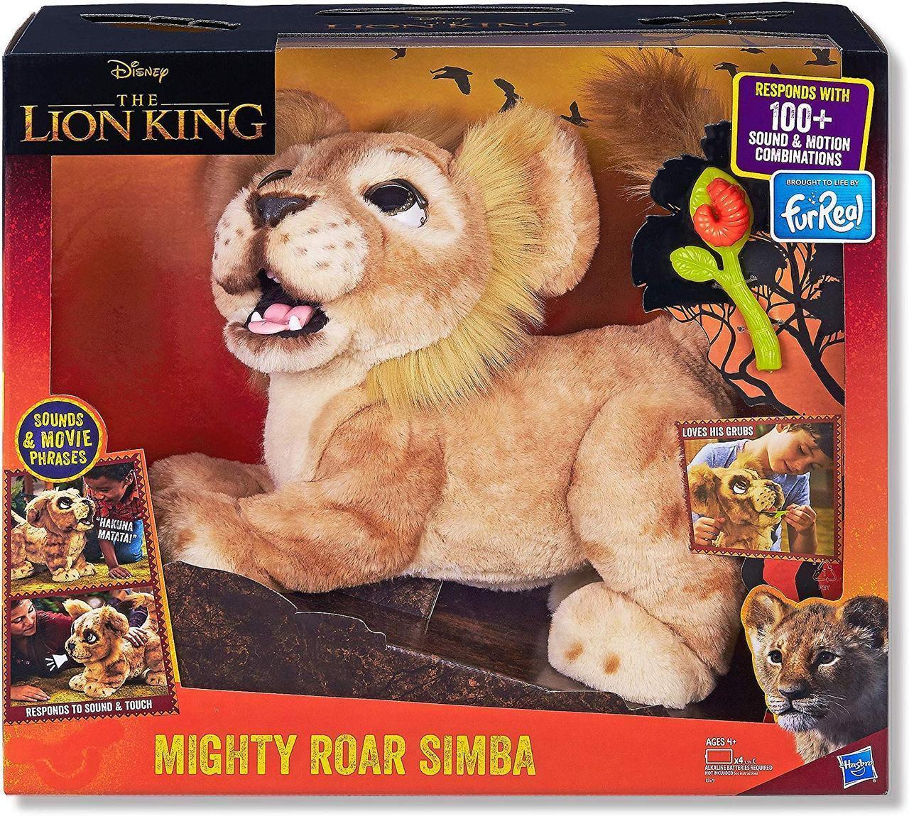 Интерактивная игрушка Дисней Король Лев Симба Hasbro Disney Lion King Simba