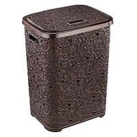 Корзина для белья Ажур Elif 322-5 коричневый #PO #O/Z