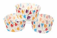 (Цена за 1000шт) Декор для капкейков Balloons, высота 3см, диаметр 6,5см, диаметр низ 5см, бумага, формочки, формы для капкейков
