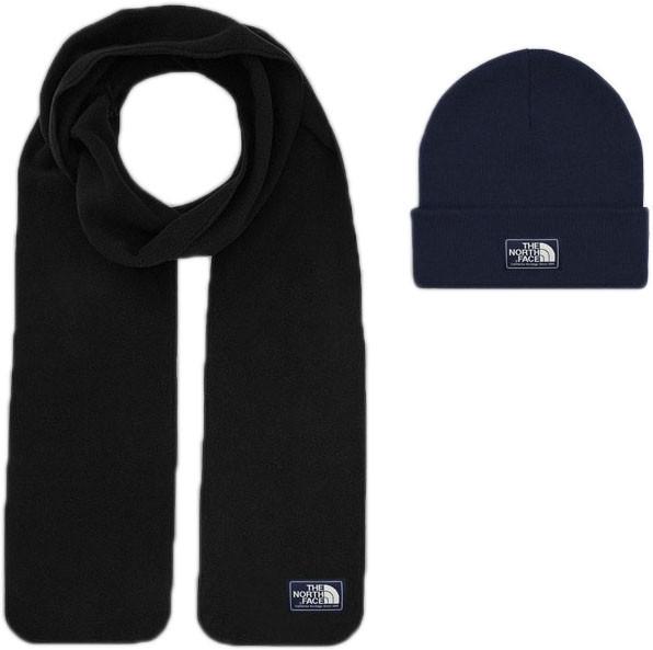 Мужской шарф The North Face (ориг.бирка) темно-синий