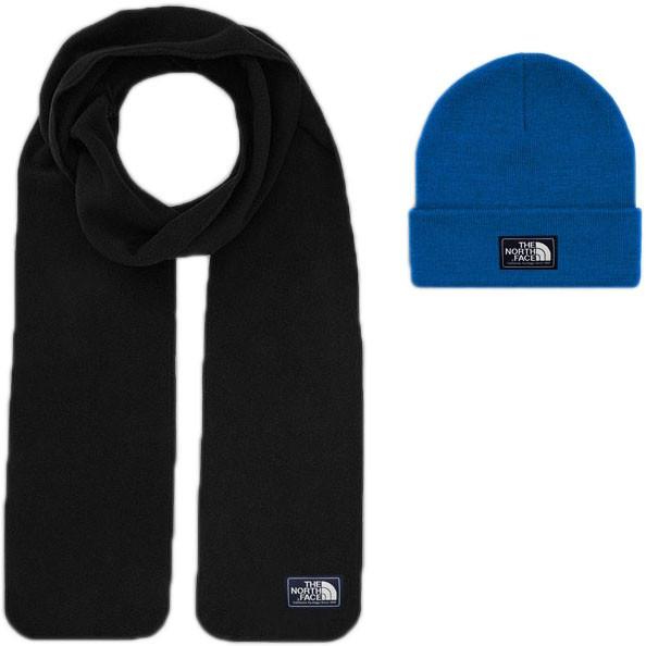 Мужской шарф The North Face (ориг.бирка) синий
