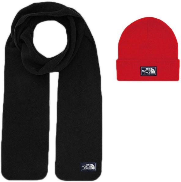 Мужской шарф The North Face (ориг.бирка) красный