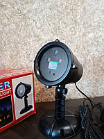Новогодний лазерный проектор - 3 цвета (мини-лазерна установка), фото 1