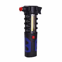 LUSTREON Магнитный COB LED Work Light Torch Безопасность Escape Rescue Window Breaker Emergency Hammer Инструмент - 1TopShop, фото 3