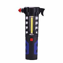 LUSTREON Магнитный COB LED Work Light Torch Безопасность Escape Rescue Window Breaker Emergency Hammer Инструмент - 1TopShop, фото 2