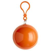 Пончо-дождевик, оранжевый, от 10 шт