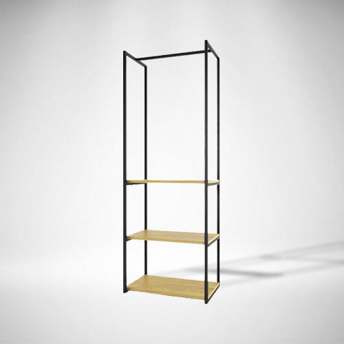 Стойка-Вешалка для одежды LNK loft 600х400x1800