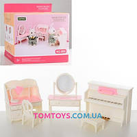 Набор мебели спальня для домиков Sweet family B05