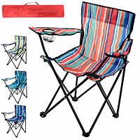 """Кресло туристическое """"Паук"""" S размер 50х50х80см, металл/полиэстер, разные цвета, стул, складная мебель, стул складной"""