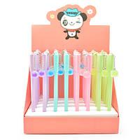 """Ручка для письма с брелком """"Пингвин"""" пластик, разные цвета, ручки, ручки шариковые, ручки подарочніе, ручки в подарок, ручка шариковая синяя"""